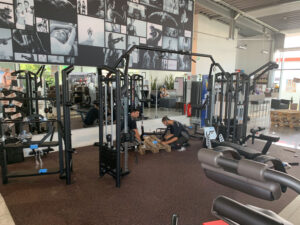 FE-Service Produkte Fitnessstudio Aufbau Fitnessall